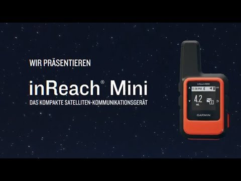 Garmin inReach® mini – Globales Satelliten-Kommunikationsgerät