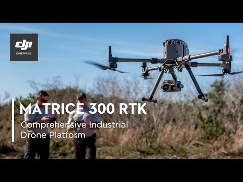 DJI – Introducing the Matrice 300 RTK and Zenmuse H20 Series