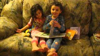 Sam Reading to Violette 2015