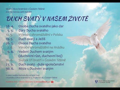 Duch Svatý a Ježíš