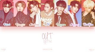 [HAN|ROM|ENG] GOT7 - OUT (Color Coded Lyrics)