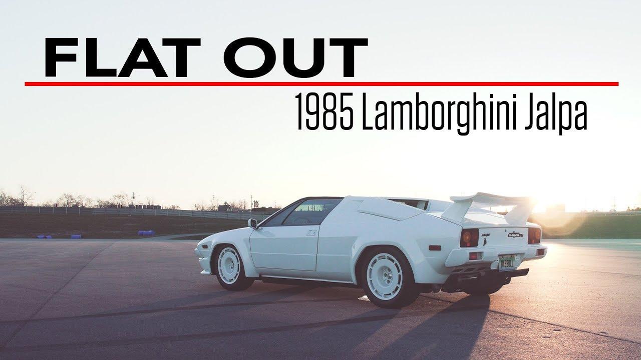 Flat Out: 1985 Lamborghini Jalpa