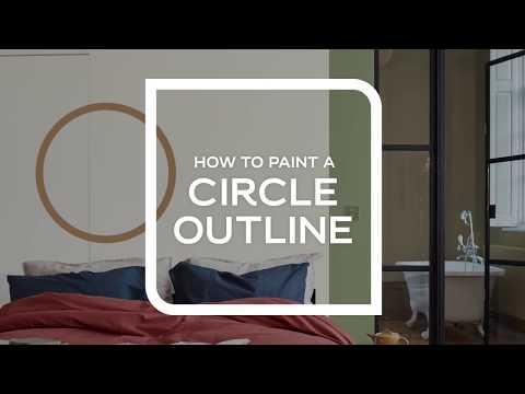Slik maler du sirkel
