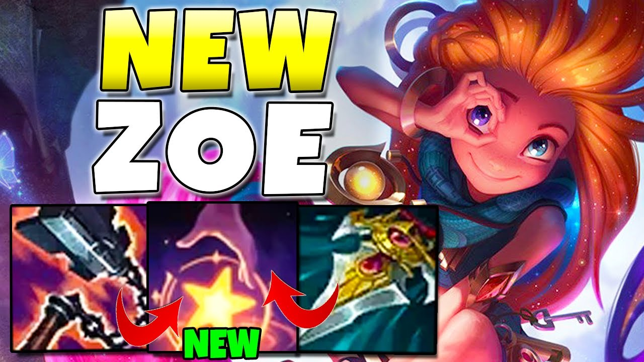 Redmercy - THIS NEW CHANGE TO ZOE W IS... INTERESTING - New Zoe Gameplay - League of Legends