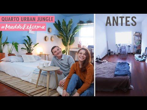 DIY – Quarto Completo Urban Jungle #Maddureforma