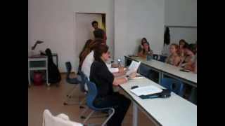 Ana Nobre de Gusmão - sessão de leitura em Leipzig com LusoNautas