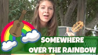 Lydia Walker - Somewhere Over The Rainbow - Ukulele Cover