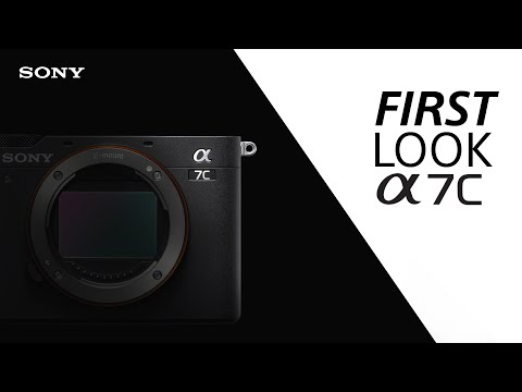 FIRST LOOK: Sony α7C compact full-frame camera | Official announcement & full details
