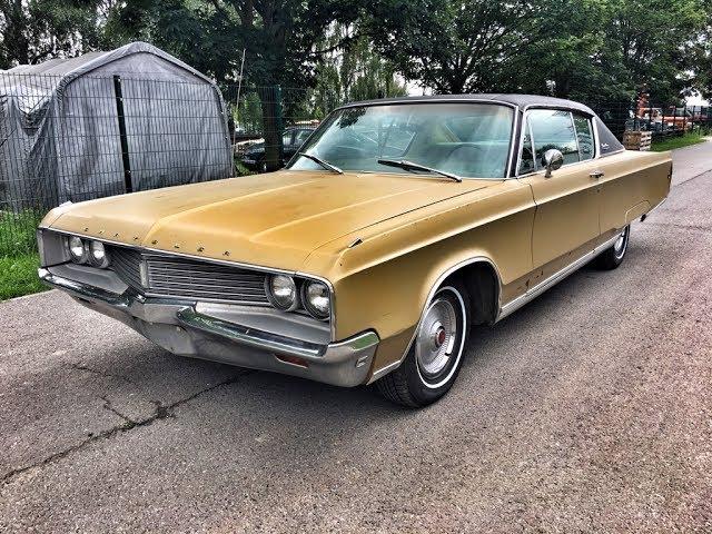 1968 Chrysler Newport V8 383 Big Block goldene Patina