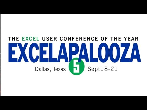 Excelapalooza 2016 Highlights