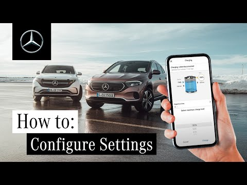 How to Configure Charge Settings and Pre-Climate Control with Mercedes me Charge