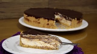 Cheesecake de Baunilha e Nutella