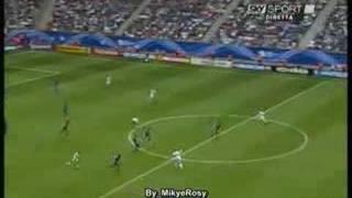 Italia vs Repubblica Ceca - Gol di Inzaghi - Amburgo