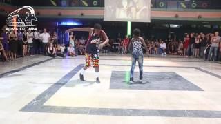 ROME KIZOMBA FESTIVAL | Kuduro - Afrohouse  Angolan dancer