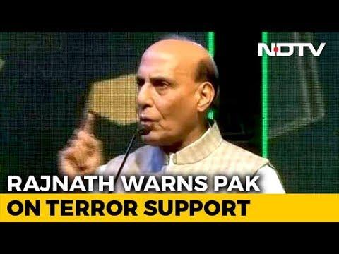 Pakistan Will Disintegrate If It Keeps Supporting Terrorism: Rajnath Singh