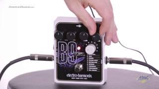 Electro Harmonix B9 Organ Machine Guitar Effects Pedal - Electro Harmonix B9