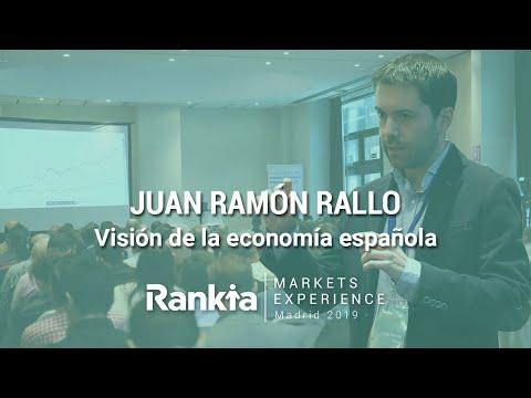 Conferencia magistral de Juan Ramón Rallo durante el evento Rankia Markets Experience (Noviembre 2019) en el que analiza la situación actual y futura de la economía española y si nos encontramos o no en una crisis económica.
