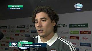 """Guillermo Ochoa: """"Es difícil ver lesionados"""" a Araujo y Salcedo"""