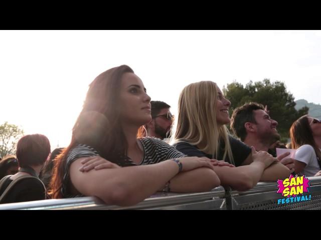 Vídeo Sansan Festival 2017 jueves y viernes