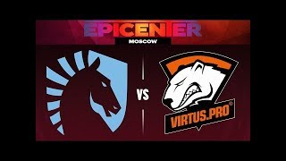 DOTA 2 LIVE - Team Liquid (Miracle Dota) VS Virtus Pro | дота 2 2017 WTF