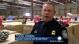 Customs Agents Make Huge Fake Designer Shoe Bust