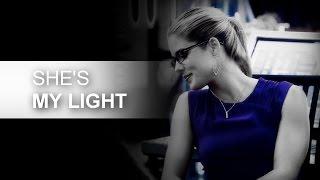 "Oliver + Felicity | ""She saved me, she's my light"" (3x08)"