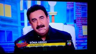 Ratinho faz desafio para Sonia Abrão