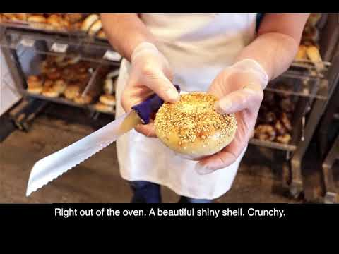 Inside Our Famous Fresh Bagels!