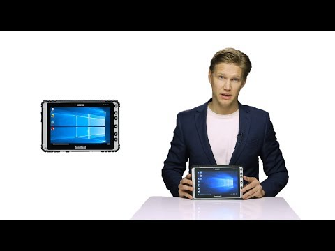 Handheld ALGIZ 8X rugged tablet product overview