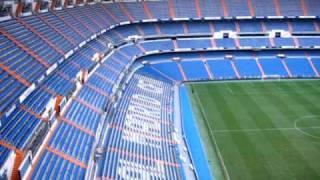 Inside Estadio Santiago Bernabeu