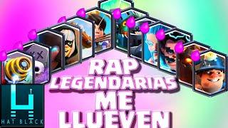 Legendarias me llueven RAP / TRAP Clash Royale Español (Parodia me llueven) Hat Black