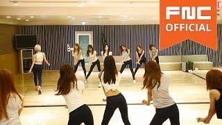 AOA - 단발머리(Short Hair) 안무영상(Dance Practice) Eye Mirror ver.