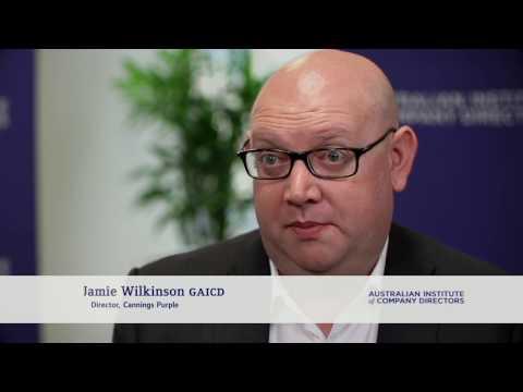 Jamie Wilkinson GAICD, Director, Cannings Purple