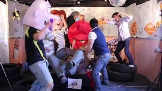 Harlem Shake en Paranoia con Alex del Castillo y Los locos del ritmo.