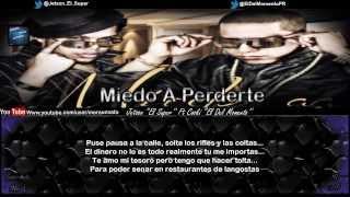 Miedo A Perderte (Letra) - Jetson ''El Super'' Ft Coski ''El Del Momento''