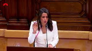 El 'zasca' en inglés de Inés Arrimadas a Quim Torra