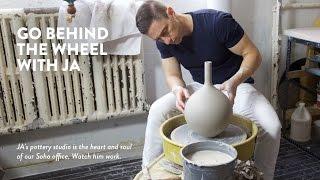 Jonathan Adler Making Pottery