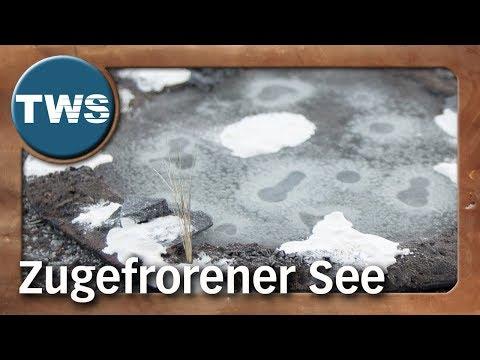 Atelier: Zugefrorener See / frozen lake (Tabletop-Gelände, TWS)