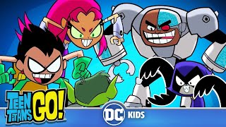 Teen Titans Go! | Bad Luck Pinch | DC Kids