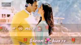 Sanam re, sanam re Tu mera sanam hua re WhatsApp best song(16)