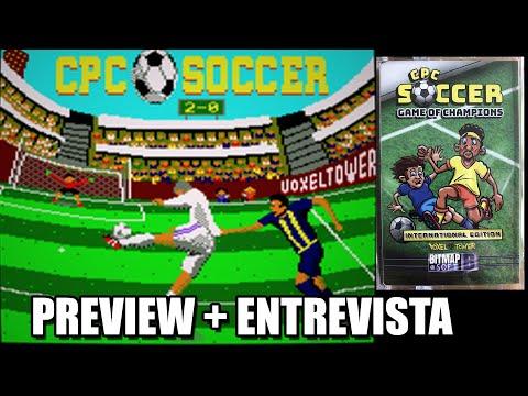 CPC SOCCER AMSTRAD GAME ENTREVISTA