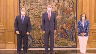 Audiencia al Ministro de RR.EE. de la República Oriental del Uruguay, Francisco Bustillo Bonasso