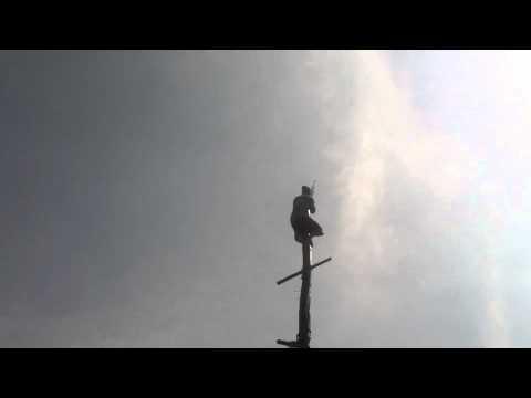Nicaragua Greasy Pole Challenge