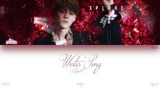 [CHI|PIN|ENG] Luhan (루한) - Winter Song (微白城市) (Color Coded Lyrics)
