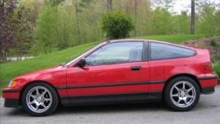 Honda CRX  TRIBUTE Video  ***( R.I.P. sexy red Si )***