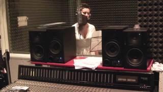 in studio with Ryan Raya