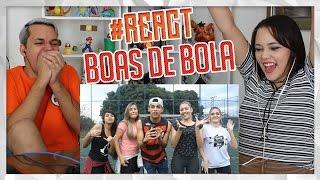 REACT DESAFIO DO TRAVESSÃO COM GAROTAS (Lukas Batista)