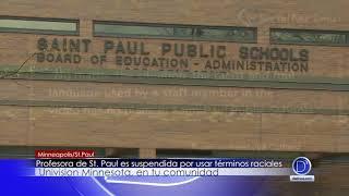 Profesora de St Paul es suspendida por usar términos raciales