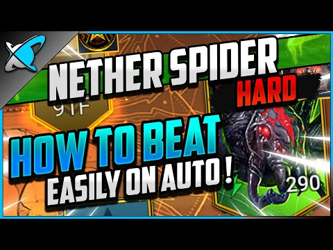 """""""HOW TO BEAT ON AUTO"""" Agreth The Nether Spider 