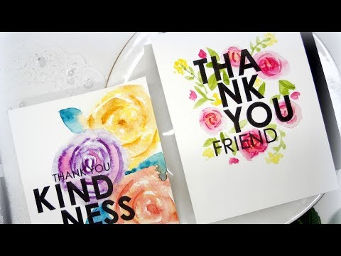 Easy Freehand Watercolor w/Kelly